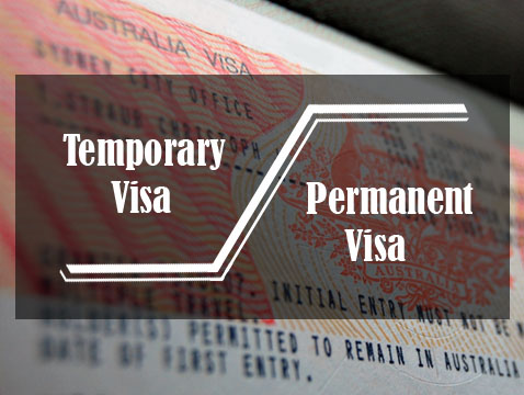 Permanent and temporary Aus visa
