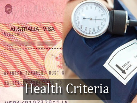 Health criteria to apply for Australian visa