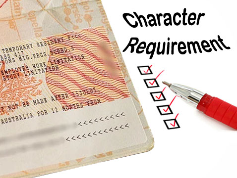 Aus visa character requirements