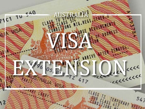 Aus visitor visa extension