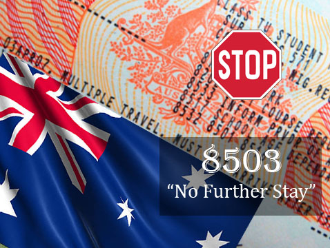 No further Stay Condition to an Aus Visa